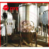 Quality 2000L Jacketed Cylindro Conical Fermenter Machine With Pressure Gage for sale