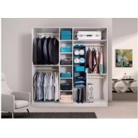 Buy cheap Melamine MDF Wardrobe Custom Wood Closet Systems 18mm MFC For Hotel Moisture from wholesalers