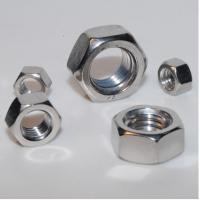 Quality Stainless Steel Hex Nuts, Hardware Fasteners Nuts And Bolts for sale