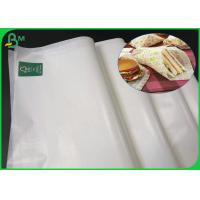 Quality Food Grade Glossy FSC Certified Paper 22 gsm 30gsm 35gsm Wood Pulp Material for sale