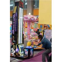 Buy Testing Strength Coin Operated Electronic Hammer Hitting Redemption Tickets Game Machines at wholesale prices