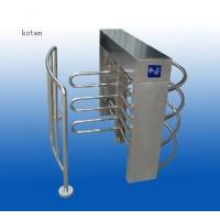 Quality Semi Automatic Half Height Turnstile With RFID Reader Mounting Bracket for sale
