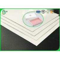 Quality Good Stiffness 400g To 1000g Two Sides Coated Duplex Board With White Back for sale