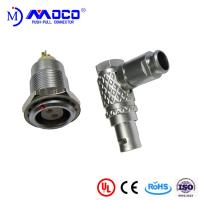 Buy M9 2 pin right angle male and female push pull connectors for Thermal imaging at wholesale prices