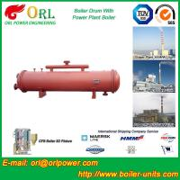 Quality Low Pressure Boiler Mud Drum CFB Boiler Spare Part ASTM Certification for sale