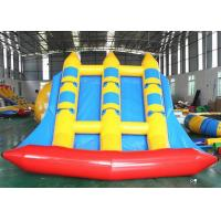 China Enjoyable Inflatable Water Sport Equipment Flying Fish Inflatable Towable on sale