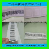 Quality Supermarket Alarm 8.2MHz RF Soft Label , 41 x 35mm EAS Sticker Tag for sale