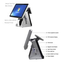Quality Retail All In One POS Terminal 15 Inch Built In 80mm Thermal Printer POS System Capacitive Touch Screen Panel for sale