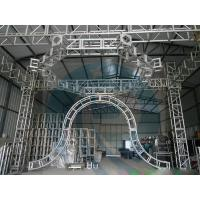 Quality High corrosion resistance Aluminum stage  truss for move performances for sale