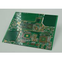 Quality 10 Layer BGA High Density Interconnect PCB Board Immersion Gold Plated for sale