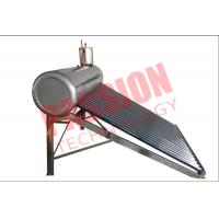 Quality Stainless Steel Pre Heated Solar Water Heater Portable Galvanized Steel Frame for sale