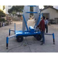 China High Chassis Specially Outdoor Aerial Working Aluminum Mast Elevated Work Platform on sale