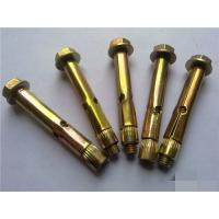 Quality High Strength Concrete Sleeve Anchors Yellow/ Color For Construction Building for sale