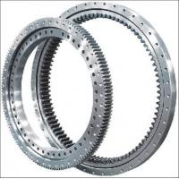 Quality Electricity Equipment Single Row Slew Ring Bearings Four Point Contact Ball External Gear for sale