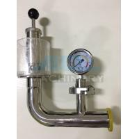 Quality Stainless Steel Spring Pressure Relief Valve for Tank  Relief Valve with Manometer for Fermentation Tank for sale