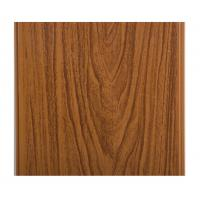 Quality Glossy Printing Wood Grain Wall Panels , Wood Wall Covering Panels Soundproof for sale