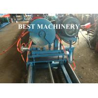 Quality Gear Box Unistrict Channel Roll Forming Machine Solar Rack 22kw Power C Shape for sale