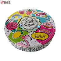 Quality New baby imprint kit plasticine tin box for baby handprint and footprint tin metal box for sale