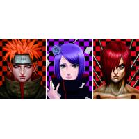 Quality Japanese Anime Change Effect 3D Lenticular Picture Optical Grade PET / APET Film Material for sale