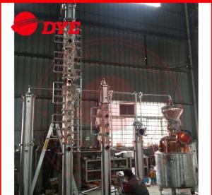 Quality Vodka / Brandy Copper Alcohol Distiller Apparatus , Home Distillery Equipment for sale