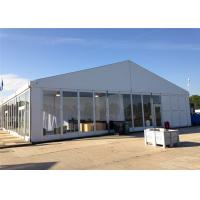 Quality High Standard 18m By 30m Advertised Custom Event Tents With ABS Glass Wall for sale