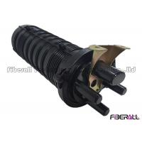 Quality Heat Shrinkable Vertical Type 24 Fibers Optical Cable Splice Joint Closure for sale