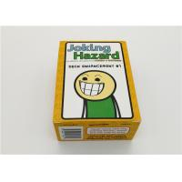 Durable Joking Hazard Board Game , Family Board Games Not For Kids 180g
