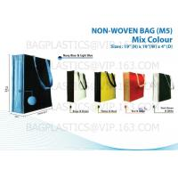 Buy NON WOVEN SHOPBAG, pp woven bags, nonwoven bags, woven bags, big bag, fibc, jumbo bags,tex at wholesale prices