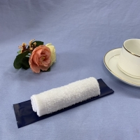 Quality Individually Packing White Refreshing Cotton Wet Towel for sale