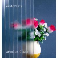 Buy 3mm to 8mm Masterlite Patterned Glass, Rolled Glass, Figured Glass with at wholesale prices
