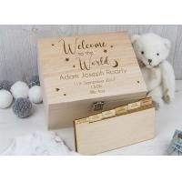 Buy Engraved Personalised Wooden Ring Box , Necklace Jewelry Women'S Wooden Jewelry Boxes at wholesale prices