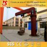 180 degree rotate 1-20 ton floor mounted jib crane for sale