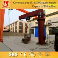 Heavy Duty Portable fixed slewing jib crane with drawing in 24 hours for sale