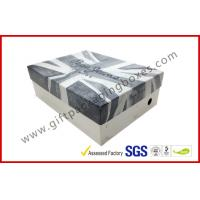 Customized Rigid Gift Boxes , Printed Shoe Gift Box For Shop