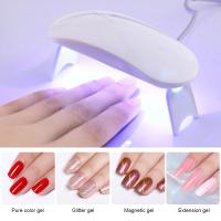 Quality Power 6W Nail Care Tools / Nail Dryer Machine Small  Exquisite For Professional / Home Use for sale