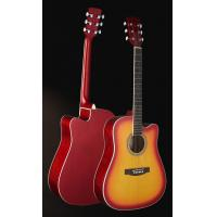 "Quality 41"" Junior Spruce Western Guitar Basic six string Acoustic Guitar TP-AG51 for sale"