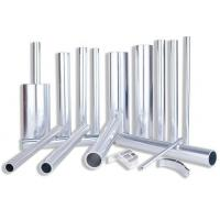 Clear Extruded Anodized Aluminum Tube , OEM Bronze Standard Aluminum Extrusion for sale