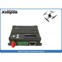 Quality 10km COFDM Video Data Link Encryted Wireless Digital Transceiver for UAV / Drone / Quadcopter for sale
