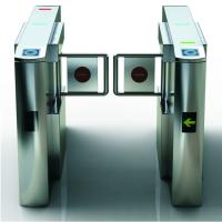 Quality Avoid retrograde and collision and 304 stainless steel swing turnstile for sale