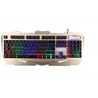 Buy Korea Layout USB Gaming Keyboard Multimedia With Suspension Keycaps Aluminum Cover at wholesale prices
