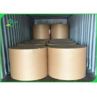 Quality White MG Paper / Kraft Paper Rolls 26g To 50g With Grease Proof Wood Pulp for sale