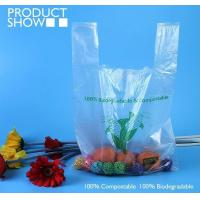 Buy cheap Grocery Biodegradable Compost Bags Fully PLA Food Grade In Roll from wholesalers