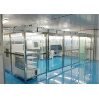 Quality HEPA Filter 220V Class 100000 Softwall Clean Room for sale