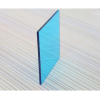 Buy 3mm Impact Resistant Polycarbonate Sheet , Blue Polycarbonate Sheet For Construction at wholesale prices
