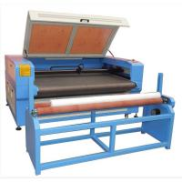 Quality clothing laser cutting machine auto feeding table for sale