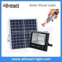 60W Solar Flood Lights Outdoor Remote Control Battery LED
