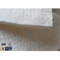 Quality Fiberglass Needle Mat High Silica Silencer Repacking Material 25MM 130KG 1800℉ for sale