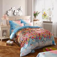 Quality 100 Percentage Cotton Fabric Home Bedroom Bedding Sets Most Comfortable for sale