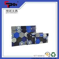 Quality Office & School Supplier Stationery A4 Size Document Folder With Button File Bag for sale