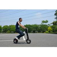 Quality 2 Wheel Foldable Electric Scooter Battery Powerd Eco Friendly Grip for sale